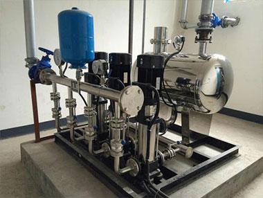 瑞景丰:罐式无负压供水设备自动焊接解决方案