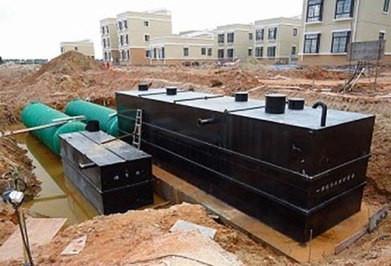 地埋式污水处理设备特点分析