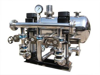 无负压供水设备怎么选型?