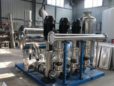 无负压变频供水与恒压变频供水设备有何区别