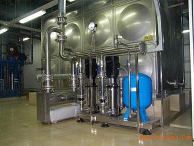 箱泵式一体化供水设备的特点