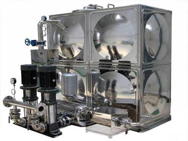 无负压供水设备的分类介绍