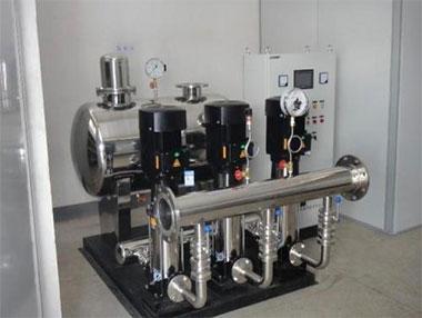 武汉无负压供水设备是如何生产的?