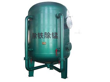 武汉除铁除锰设备:井水除铁锰处理流程
