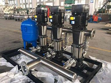 恒压供水设备没有泄漏要怎么解决?