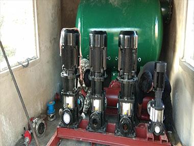 关于恒压供水设备的日常保养工作