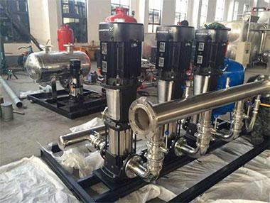 无负压供水设备在选型是要注意什么?
